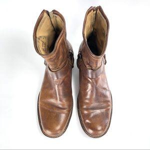 Frye Men's Phillip Harness Cognac Leather Boot